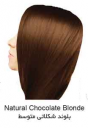 رنگ موی تیوپی 7.7 (E.7) بلوند شکلاتی متوسط سون تایم
