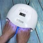 دستگاه LED/UV خشک کن لاک ناخن سان اکس 5 پلاس SUN X5 plus
